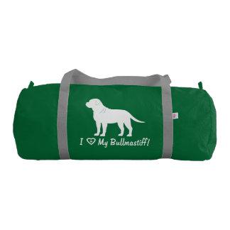 I Love My Bullmastiff! Gym Bag