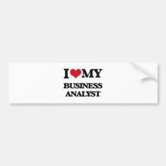I love my Business Analyst Bumper Sticker