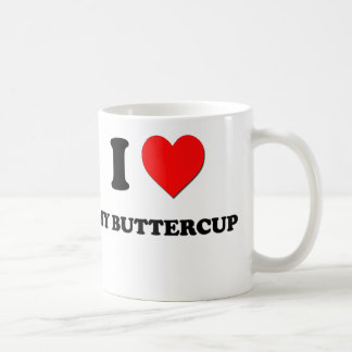 I Love My Buttercup Coffee Mug