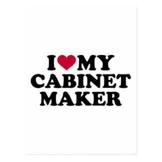 I love my cabinetmaker postcard