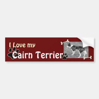 I love my Cairn Terrier Bumper Sticker
