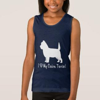 I Love My Cairn Terrier Singlet