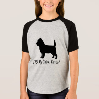 I Love My Cairn Terrier T-Shirt