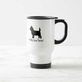 I Love My Cairn Terrier! Travel Mug