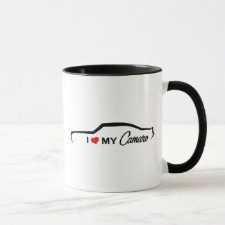 I Love My Camaro Mug