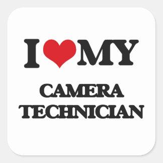 I love my Camera Technician Sticker