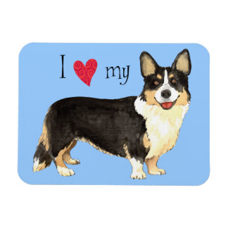 I Love my Cardigan Welsh Corgi Magnet