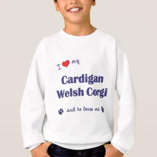 I Love My Cardigan Welsh Corgi (Male Dog) Tee Shirts