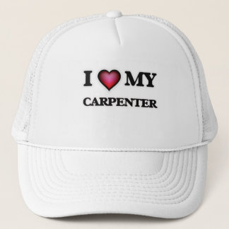 I love my Carpenter Trucker Hat
