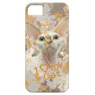 I love my cat barely there iPhone 5 case