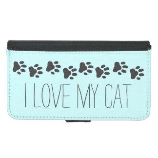 I Love My Cat Galaxy S5 Wallet Case