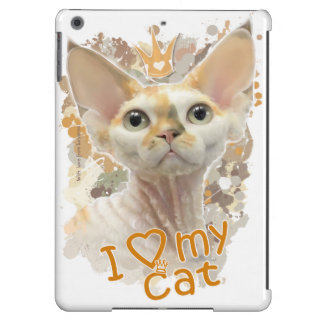 I love my cat iPad air case