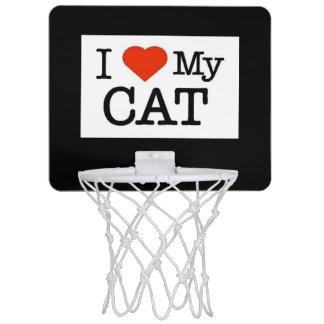 I Love My Cat Mini Basketball Hoop