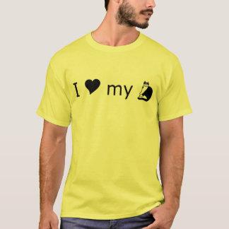 """I Love My Cat"" T-Shirt, Design 2 T-Shirt"