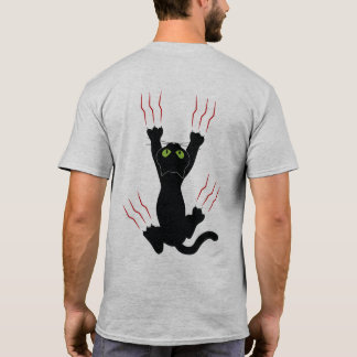 I Love My Cat, Two-sided Print T-Shirt