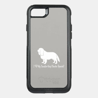 I Love My Cavalier King Charles Spaniel! OtterBox Commuter iPhone 8/7 Case