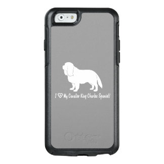 I Love My Cavalier King Charles Spaniel! OtterBox iPhone 6/6s Case