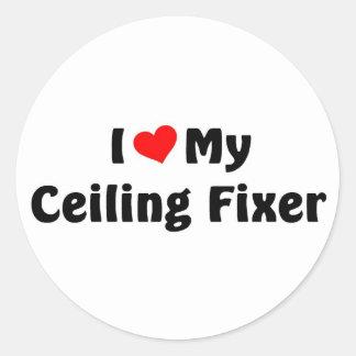 I love my ceiling fixer round sticker