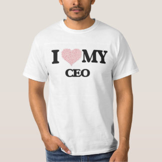 I love my Ceo (Heart Made from Words) Tee Shirt