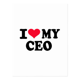 I love my CEO Postcard