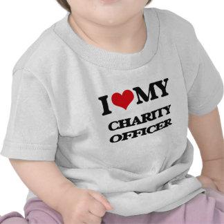 I love my Charity Officer Tee Shirt