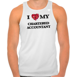 I love my Chartered Accountant Singlet