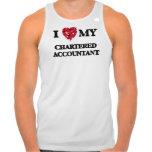I love my Chartered Accountant T Shirts