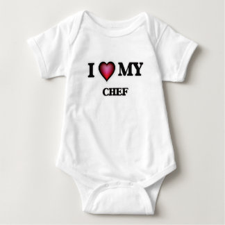 I love my Chef Baby Bodysuit