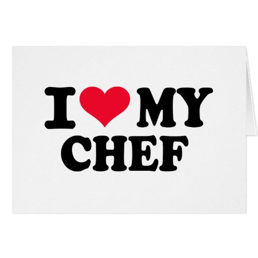 I love my Chef Cards