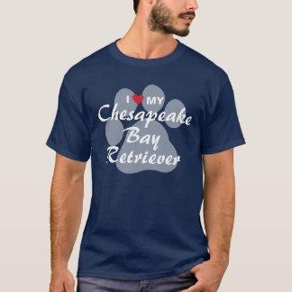 I Love My Chesapeake Bay Retriever T-Shirt
