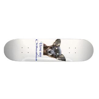 I love my Chihuahua 19.7 Cm Skateboard Deck