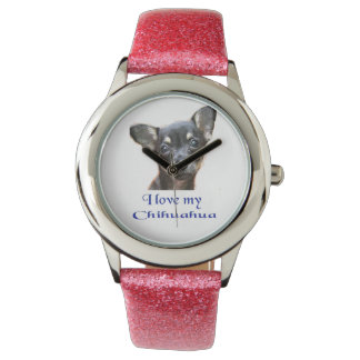 I love my Chihuahua Wrist Watches