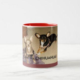 I Love My Chihuahuas-Coffee Mug