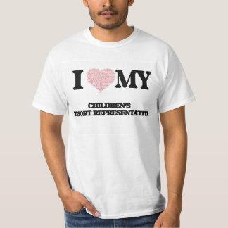 I love my Children's Resort Representative (Heart Shirt