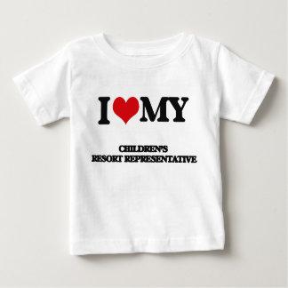 I love my Children's Resort Representative Tee Shirts
