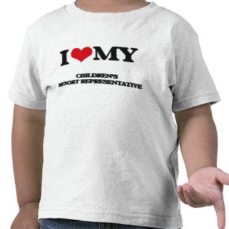 I love my Children's Resort Representative Tshirts
