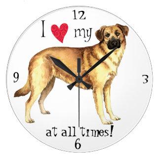 I Love my Chinook Wall Clock