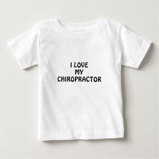 I Love My Chiropractor Baby T-Shirt