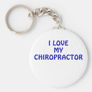 I Love My Chiropractor Key Ring