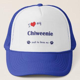 I Love My Chiweenie (Male Dog) Trucker Hat