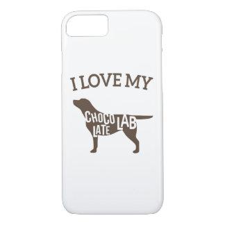 I Love My Chocolate Lab iPhone 7 Case