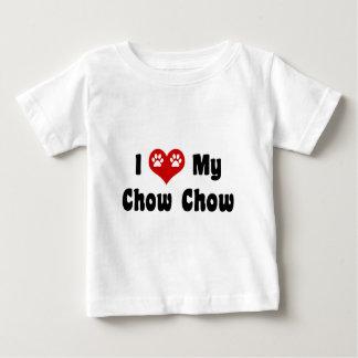 I Love My Chow Chow Baby T-Shirt