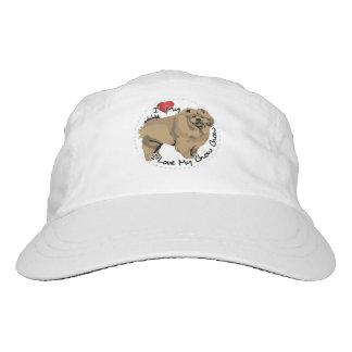 I Love My Chow Chow Dog Hat