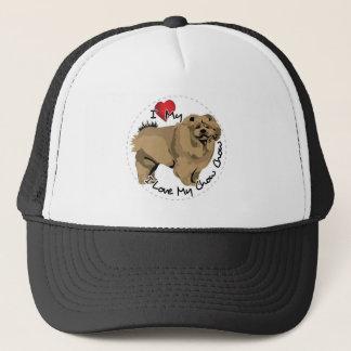 I Love My Chow Chow Dog Trucker Hat
