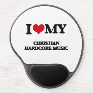 I Love My CHRISTIAN HARDCORE MUSIC Gel Mousepads