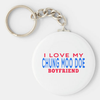 I Love My Chung Moo Doe Boyfriend Keychain