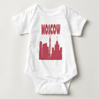I Love My city - Moscow T-shirt. Baby Bodysuit