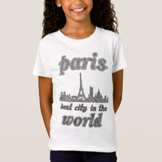 I Love My city - Paris T-shirt. T-Shirt