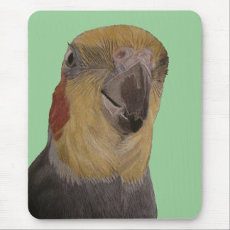 I Love My Cockatiel! Bird Mouse Pad