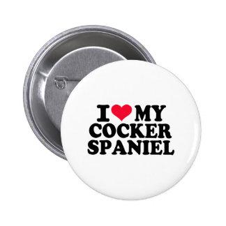 I love my Cocker Spaniel Pins